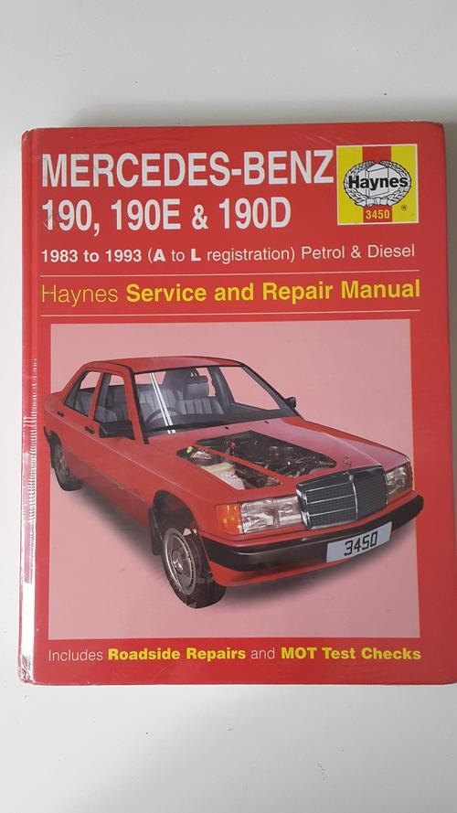Cars new mercedes benz 190 190e and 190d 1983 to 1993 for Mercedes benz r129 service repair workshop manual
