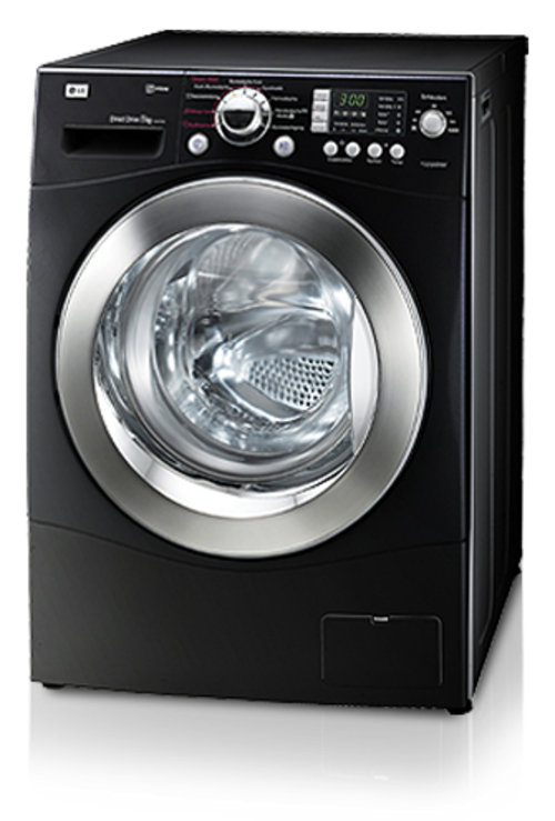 washing machines lg f1403fds6 steam front loader washing machine still new but not in a box. Black Bedroom Furniture Sets. Home Design Ideas