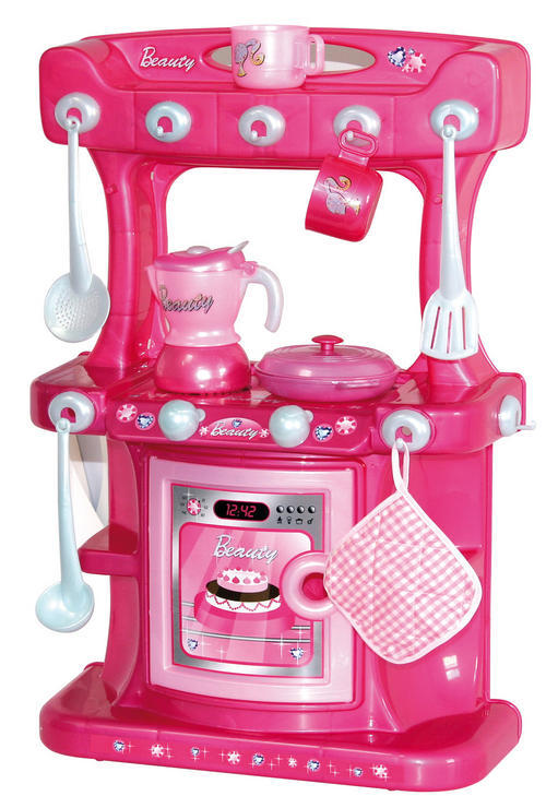 kitchen housework pink free standing kitchen playset