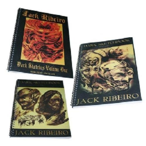 The Best tattoo flash/art money can buy. 3 books by the great JACK RIBEIRO