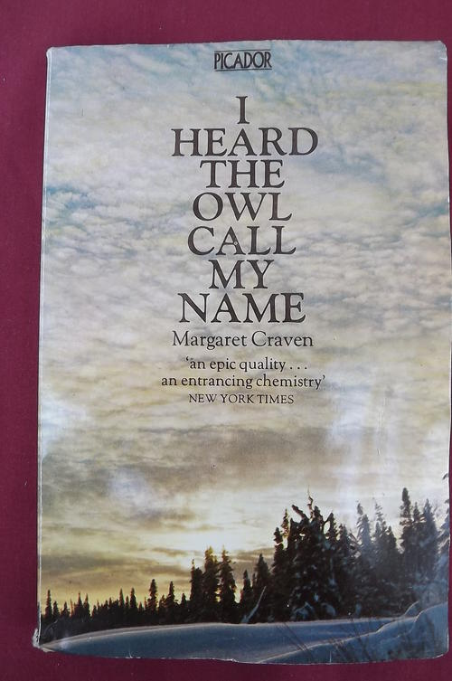 book review of i heard the owl call my name