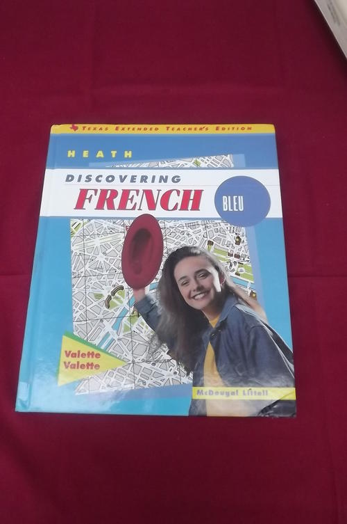 Discovering French Blanc Answer Key [Teacher's Edition] [Paperback] By Valette