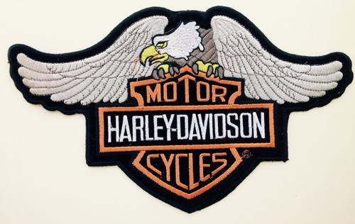 Other Bike Part U0026 Accessories - Harley Bikers Big Downwings Eagle Embroidery Patch Was Listed ...