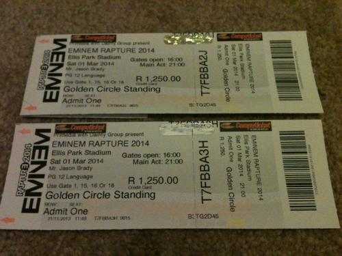 eminem tickets - photo #2