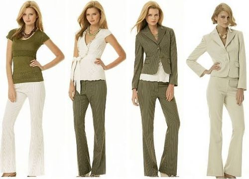 Trendy Women's Office Wear 2011