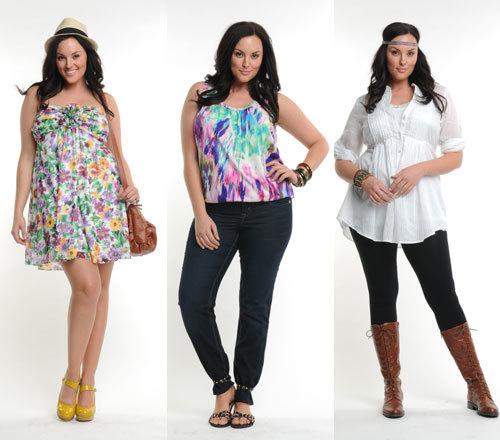 Plus Size Clothing | Plus Sizes for Full Figured Women r Ashley Stewart Eyelet Dress