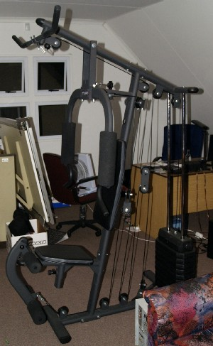 Exercise machines trojan solo performa home gym was sold for Solo fitness gym