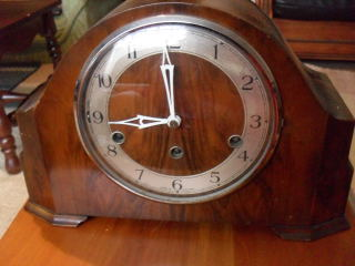 Mantel Clocks An Enfield Westminster Chime 8 Day Mantle