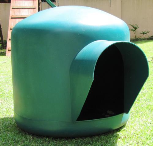 Green Igloo Dog House