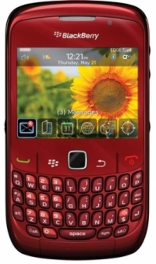 blackberry 8520 curve red. BLACKBERRY 8520