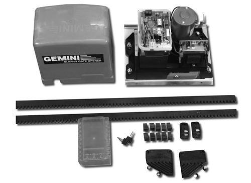 Gemini gate motor user manual motopp for Gate motor installation prices