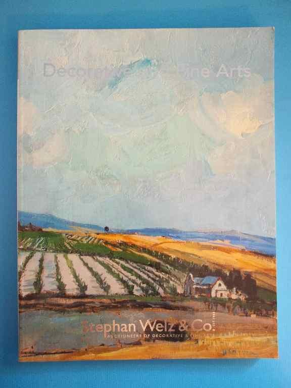 Stephan Welz & Co - Decorative & Fine Arts - Capetown - June 2011