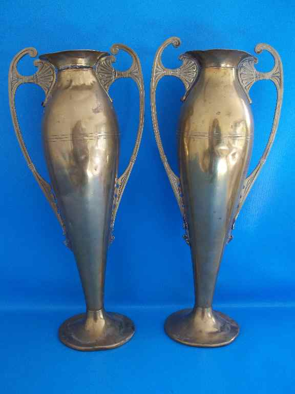 Brass Tiel KMD Holland Vases