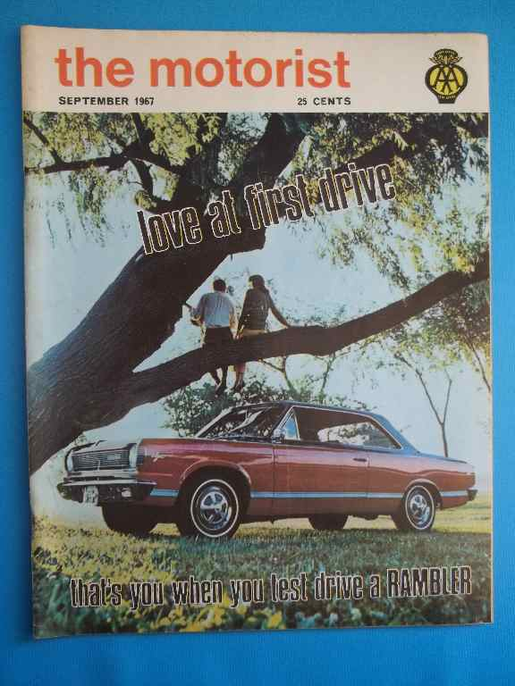 The Motorist - September 1967 (Official Journal Of The Automobile Association Of South Africa)