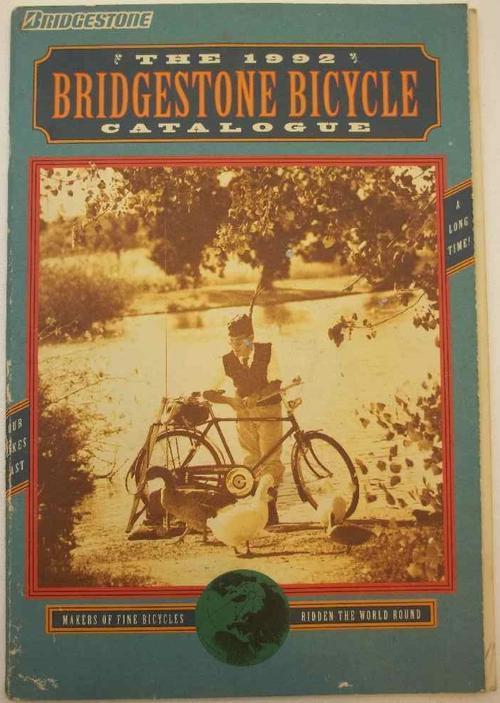 Bridgestone Bicycle Catalog The 1992 Bridgestone Bicycle