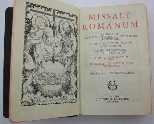 Missale Romanum - Joannis H Gottmer