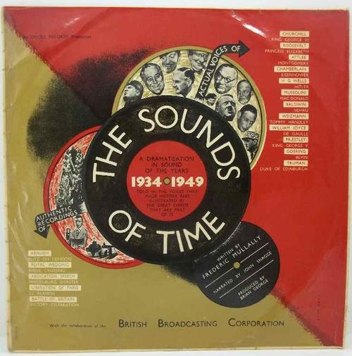 The Sounds Of Time 1934-1949 - British Broadcasting Corporation - Oriole - MG-20021