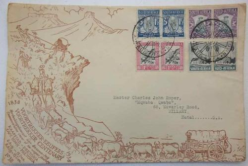 1838-1938 Voortrekker Centenary First Day Cover