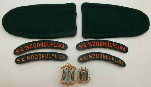 SA Noodhulpliga Badges & Insignia Set