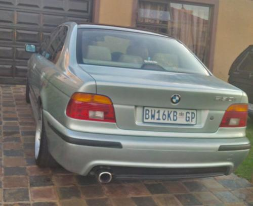 bmw 2001 bmw e39 530i monster 170 kw was sold for r45. Black Bedroom Furniture Sets. Home Design Ideas