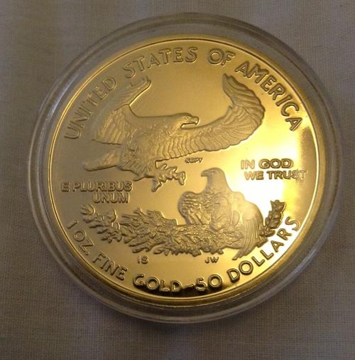 The Americas 1oz Usa 50 Dollars Fine Gold 2011 Copy