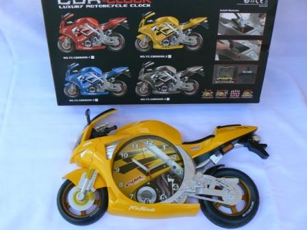 Other Watches Wall Clock Motorcycle Motor Bikes Bike