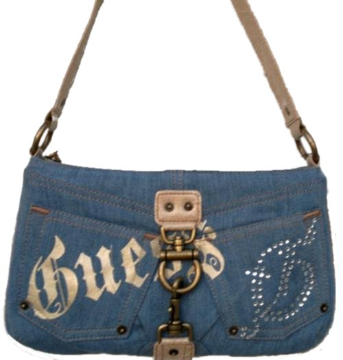 Handbags u0026 Bags - Guess Denim Handbag Retails for was sold for R295.00 on 1 Jun at 1401 by ...