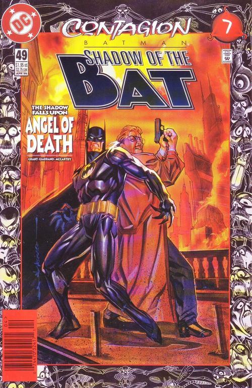Batman: shadow of the bat #55 FINE (FN) DC Comics modern age