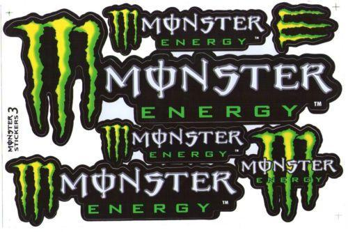accessories stickers monster stickers sticker kits for. Black Bedroom Furniture Sets. Home Design Ideas