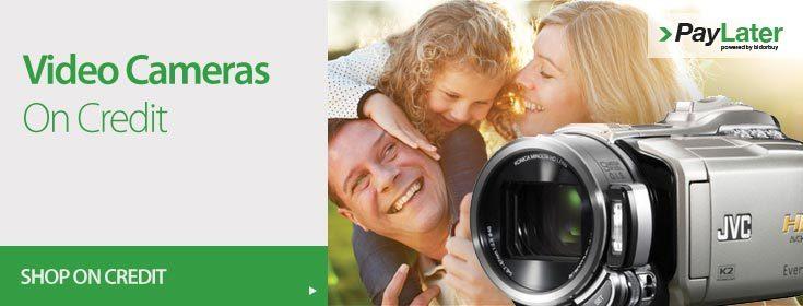 Buy Video Cameras on Credit