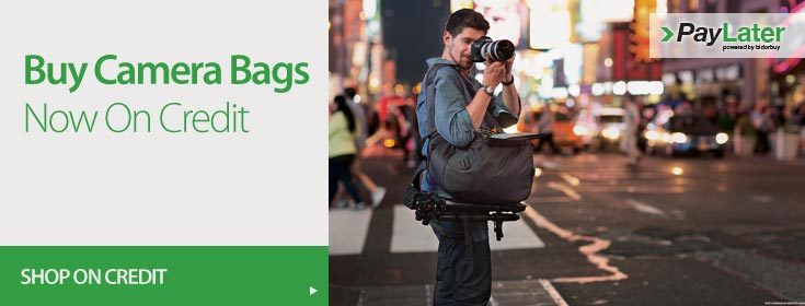 Buy Camera Bags on Credit