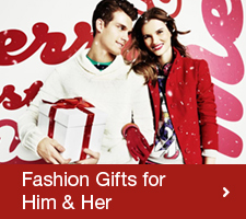 Fashionable Xmas Gifts for Him & Her